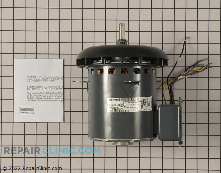 Condenser Fan Motor HC44VL852 Alternate Product View