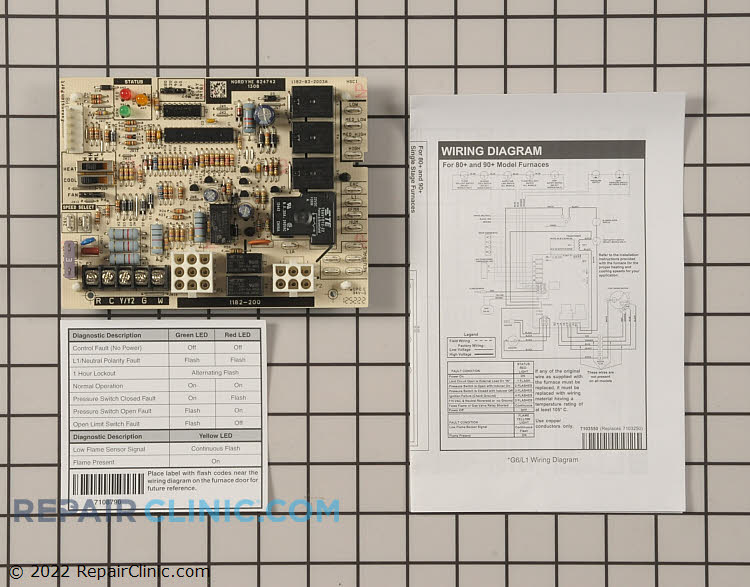 Control Board 920915 Alternate Product View