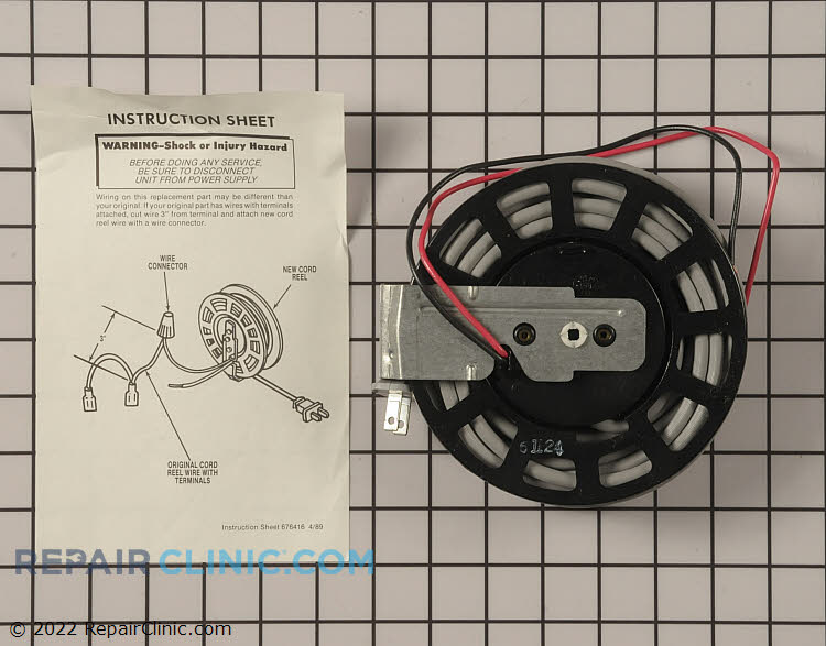 Cord Rewind Assembly 4147261         Alternate Product View