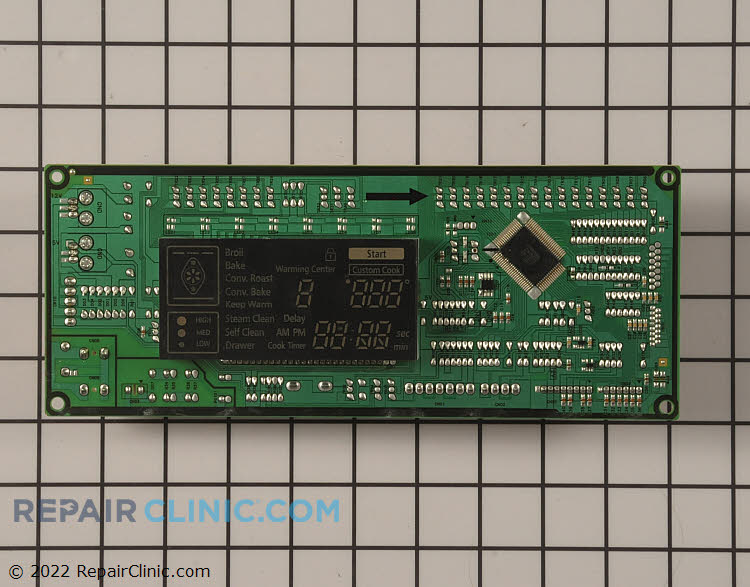 Oven Control Board OAS-ABMAIN-02   Alternate Product View