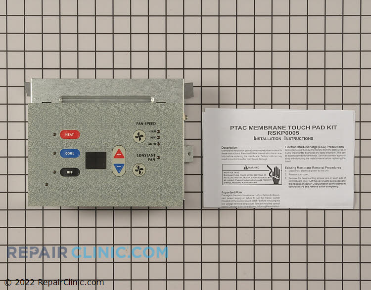 Touchpad and Control Panel RSKP0005 Alternate Product View