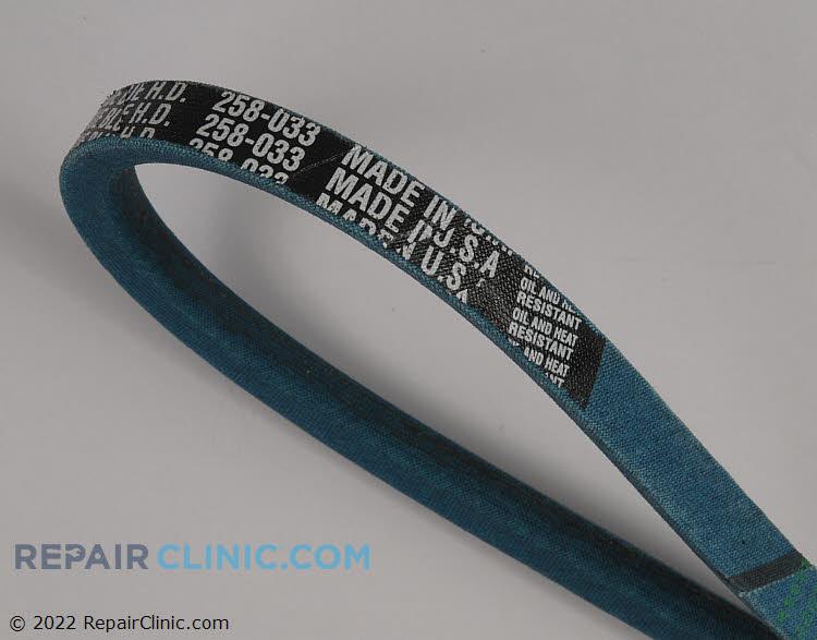 True-blue belt