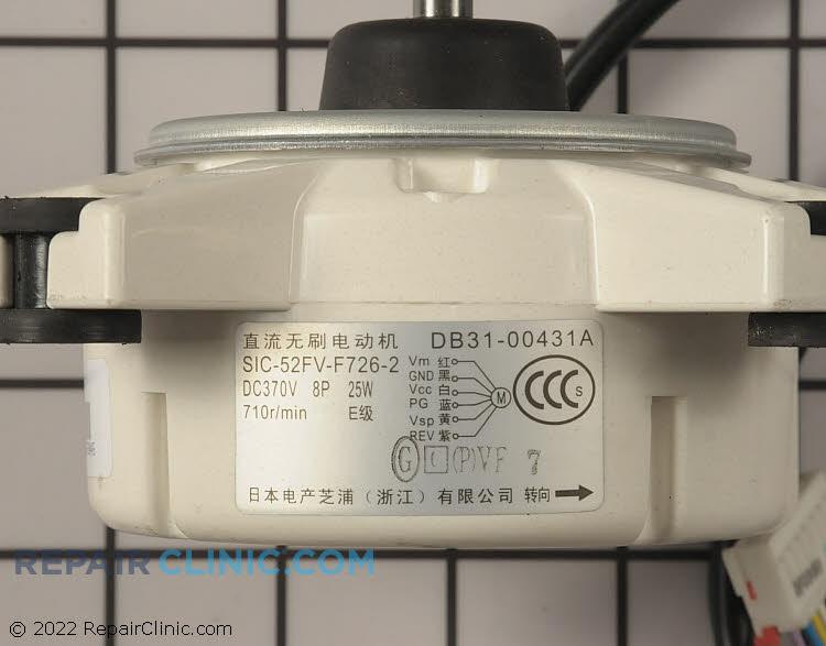Fan Motor DB31-00431A Alternate Product View