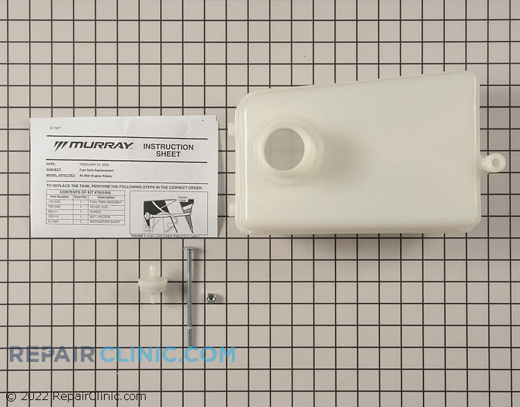 Fuel Tank 7601045MA       Alternate Product View