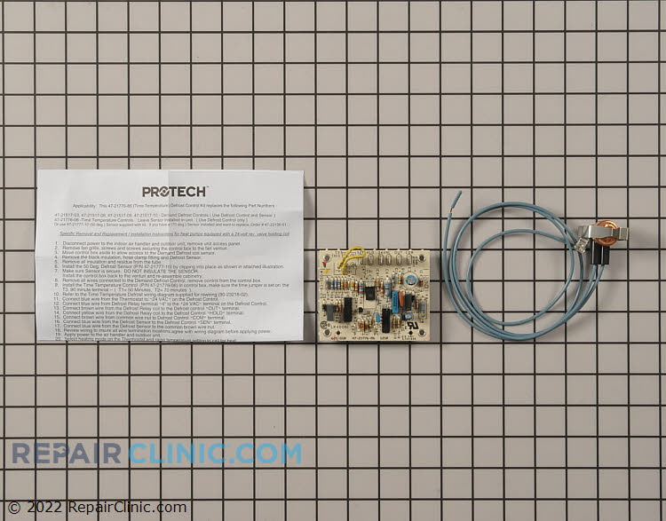 Defrost control board kit