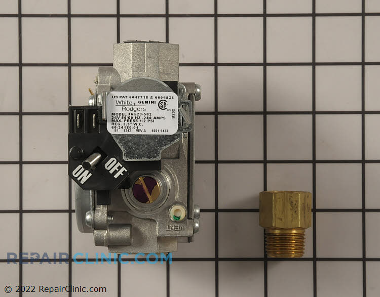 "Gas valve -1/2x1/2"" hsi/dsi slowop ng vlv"