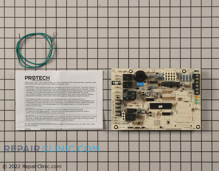 Control Board 62-102635-81 Alternate Product View