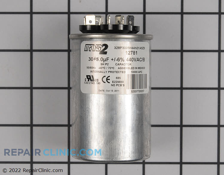 Dual Run Capacitor CPT00659 Alternate Product View