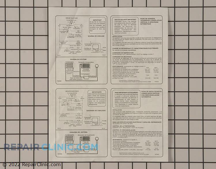 Tech Sheet 297010501       Alternate Product View