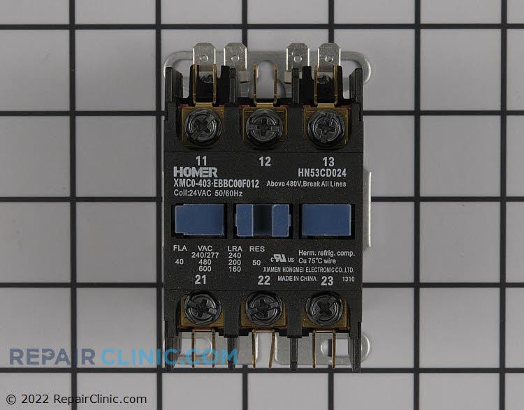 Contactor 24v/40a with screws