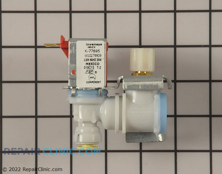 Water Inlet Valve WPW10279909 Alternate Product View