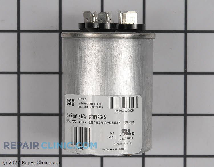 Dual Run Capacitor S1-02423997700 Alternate Product View