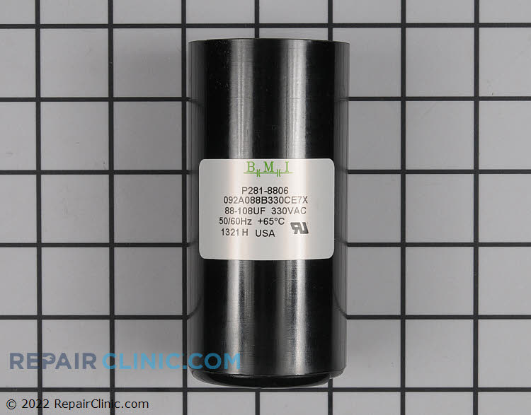 Start Capacitor P281-8806 Alternate Product View