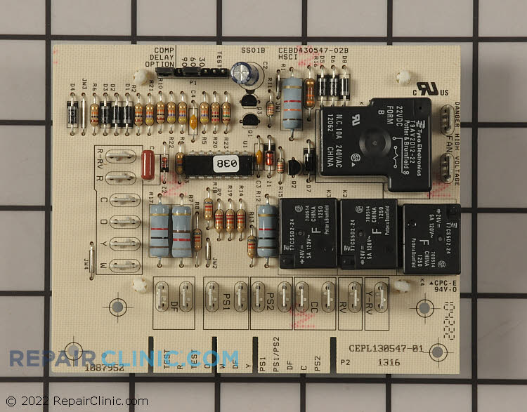 Control Board 1087952 Alternate Product View