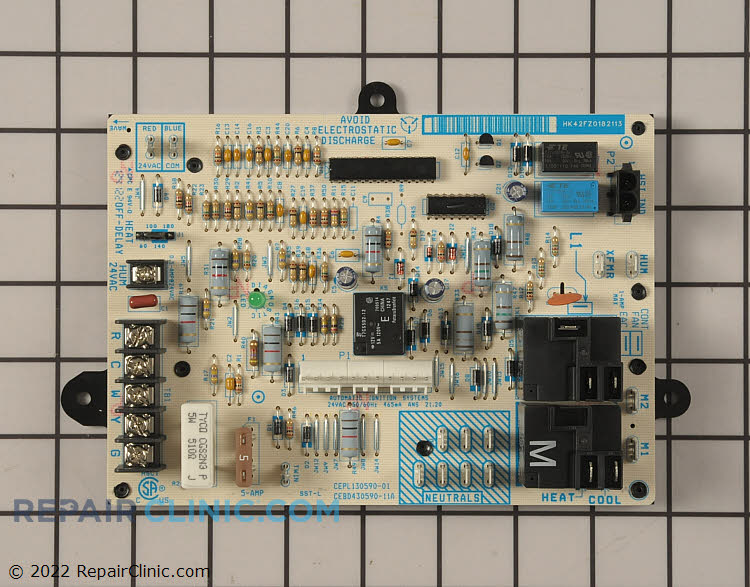 Control furnace 1-stg