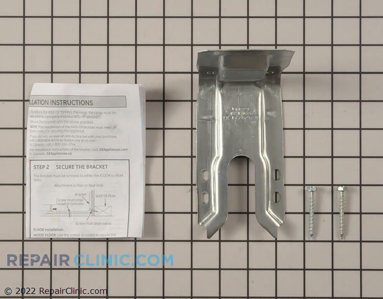 Anti-Tip Bracket WB02T10578      Alternate Product View