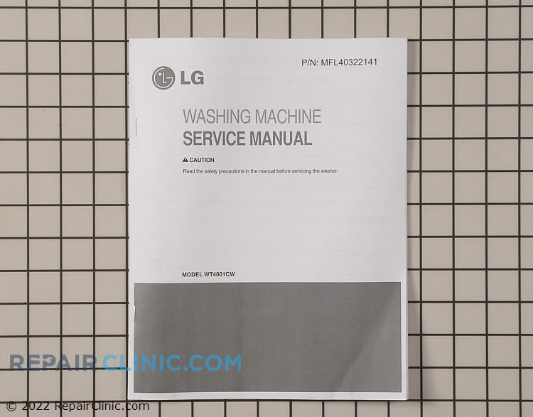 Owner's Manual MFL40322141 Alternate Product View