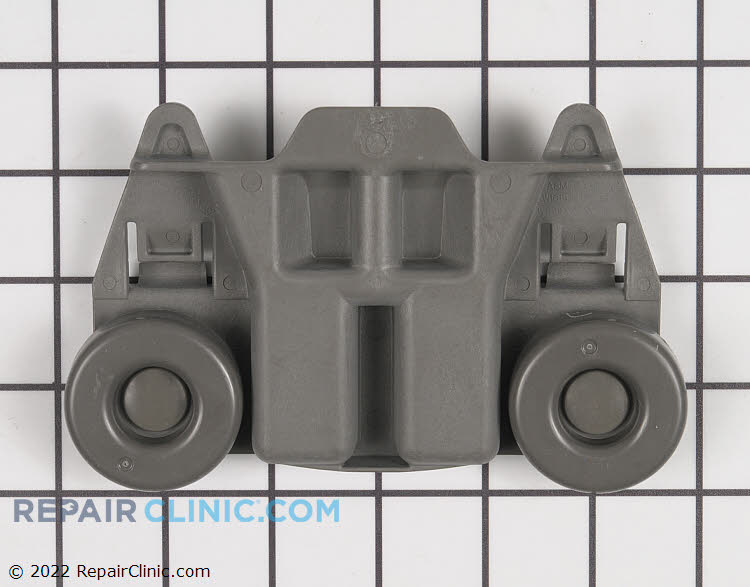 Lower dishrack roller assembly, gray, sold individually you will need (4) roller assemblys to replace them all.