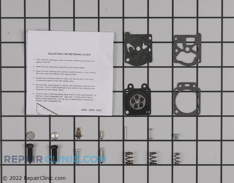 Carburetor Repair Kit 530069829 Alternate Product View