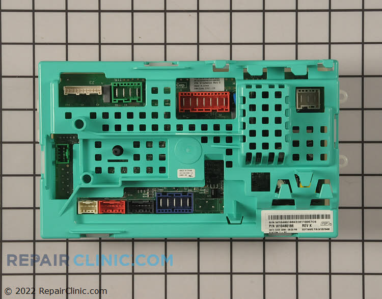 Main Control Board W10480186 Alternate Product View