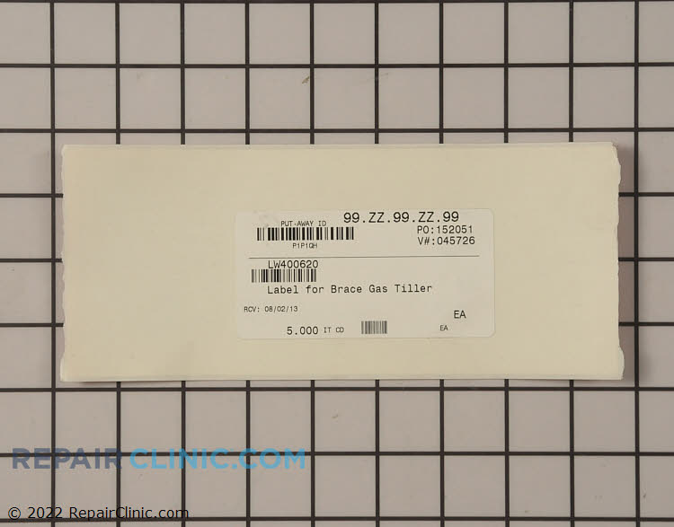 Label 400620 Alternate Product View
