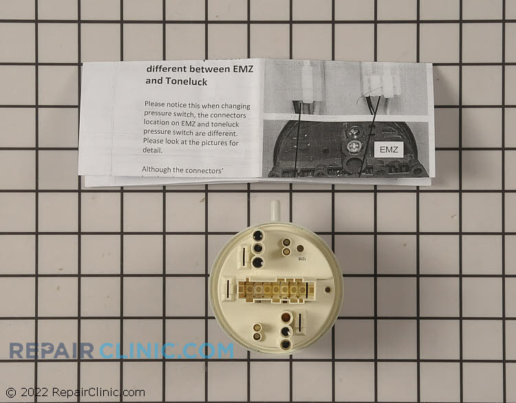 Pressure Switch WH12X10522      Alternate Product View