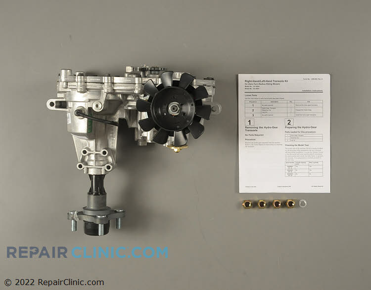 Transaxle Assembly 114-8521 Alternate Product View