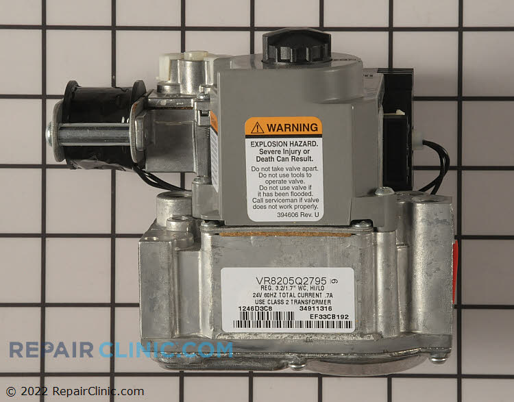 Gas Valve Assembly 1172822 Alternate Product View