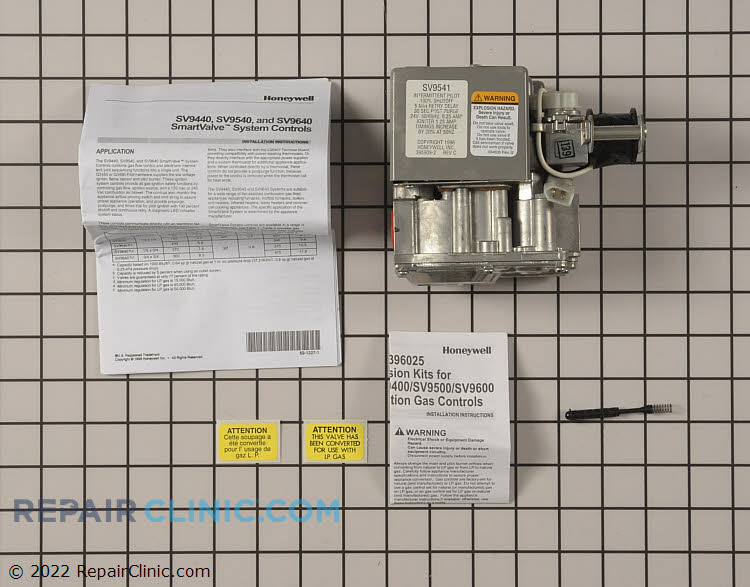 Gas Valve Assembly 1013351 Alternate Product View