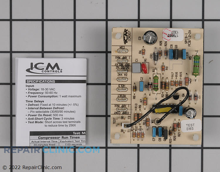 Defrost Control Board 1093410 Alternate Product View
