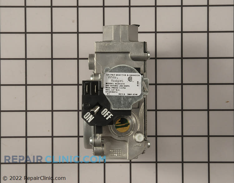 Gas Valve Assembly 1176929 Alternate Product View