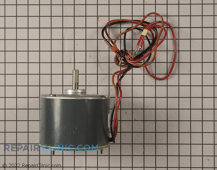 """1/3 HP 208-230Volts 60/50Hertz 1.6Amps 1075RPM Single Speed Closed Enclosure 48Y Frame Single Phase CCW Rotation 1.5"""" Shaft"""