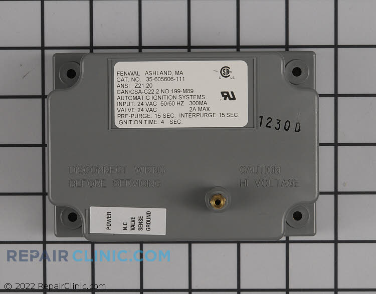 Control Module 35605606111 Alternate Product View