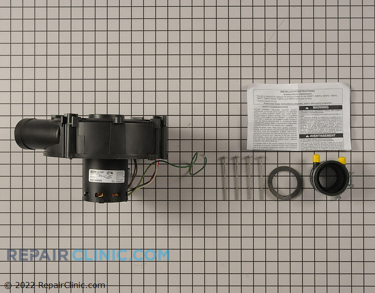 Draft Inducer Motor 1177467 Alternate Product View