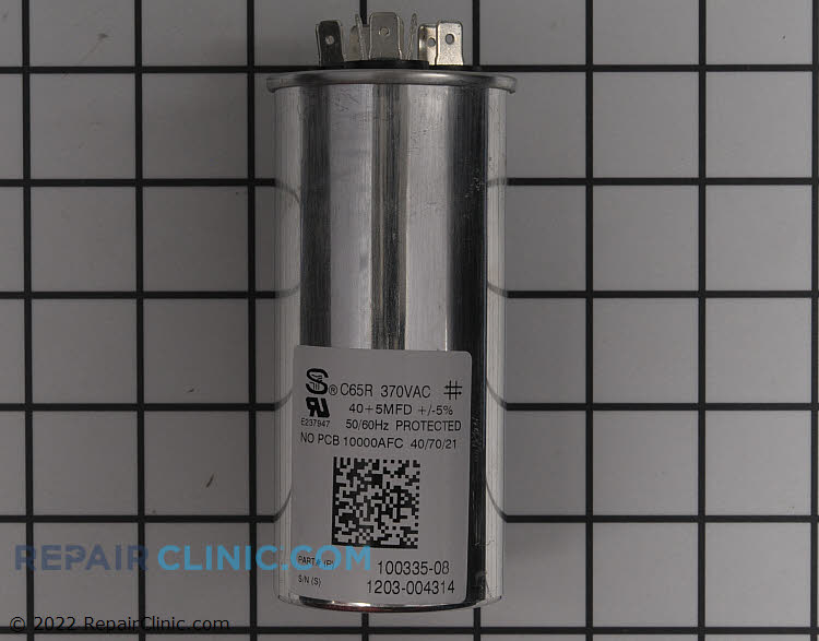 Dual Run Capacitor 89M76 Alternate Product View