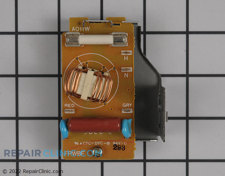 Noise Filter Power Control Board Fuse