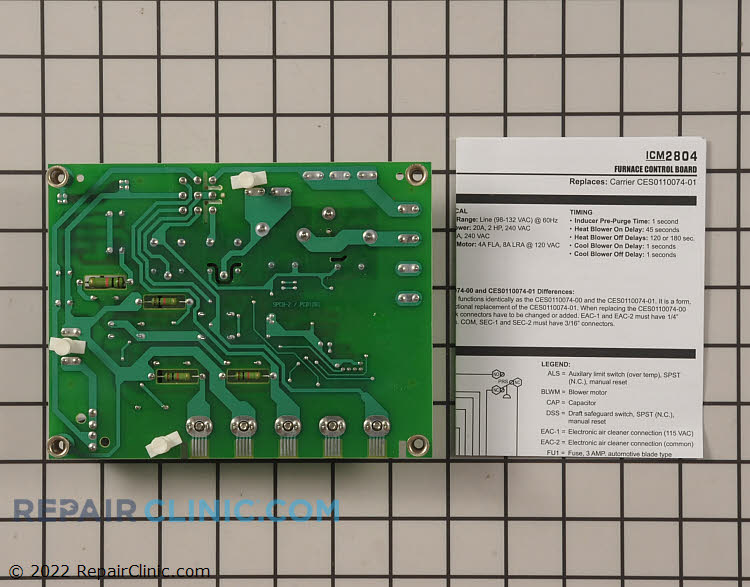 Control Board ICM2804 Alternate Product View