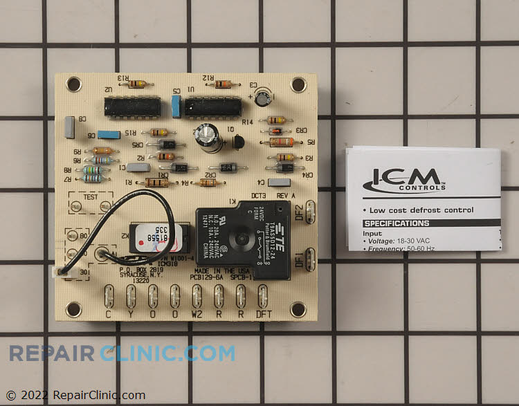 Defrost Control Board ICM318 Alternate Product View