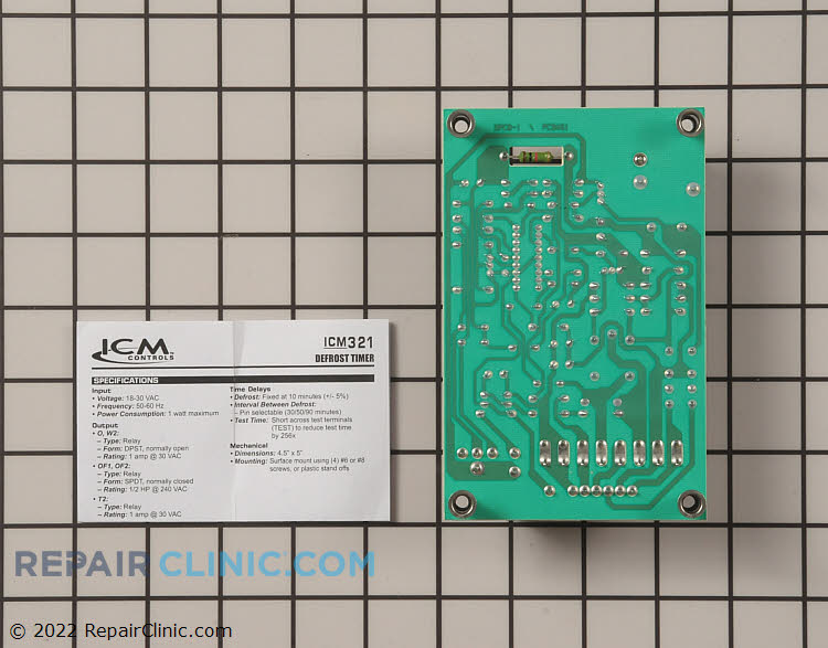 Defrost Control Board ICM321 Alternate Product View