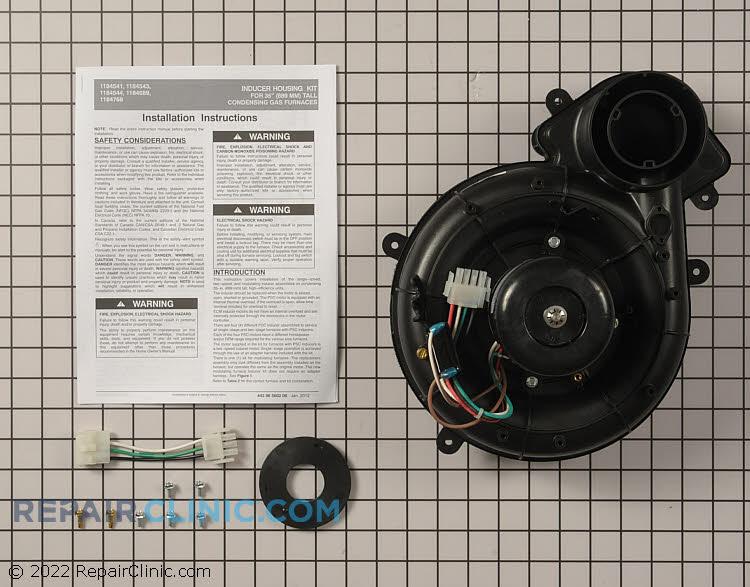 Inducer housing kit