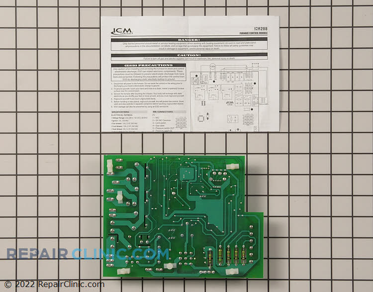 Control Board ICM288 Alternate Product View