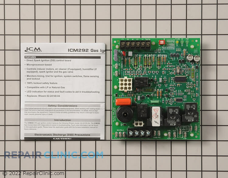 Control Board ICM292 Alternate Product View