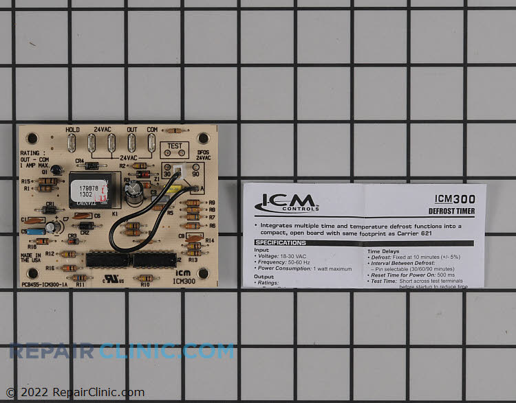 Defrost Control Board ICM300 Alternate Product View
