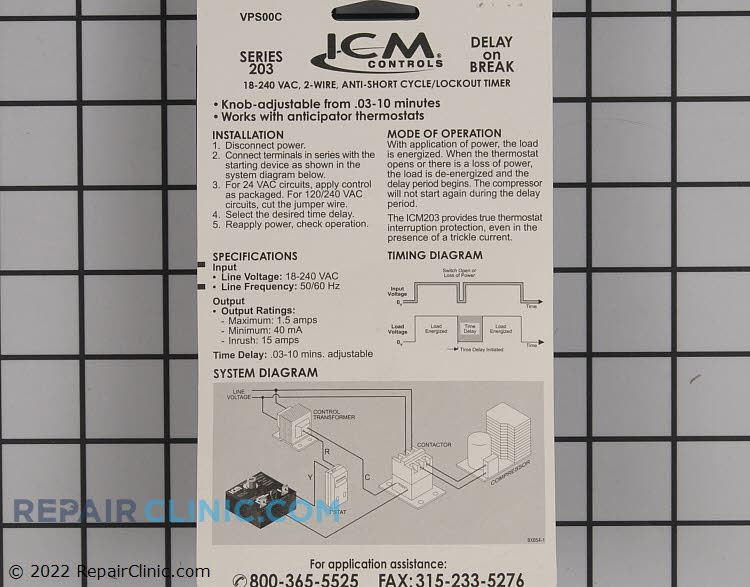 Timer ICM203F Alternate Product View