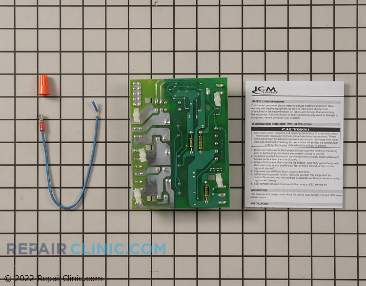 Control Board ICM289 Alternate Product View