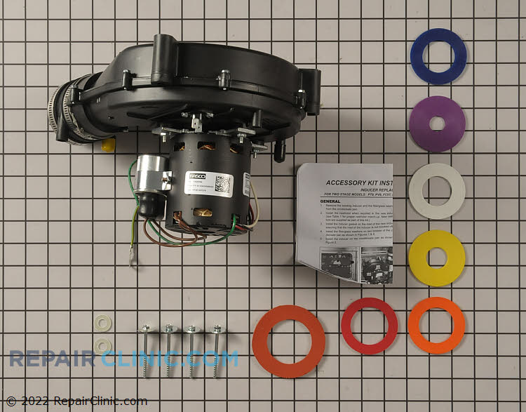 Draft Inducer Motor S1-32434589000 Alternate Product View