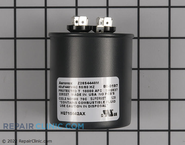 Run Capacitor 710642 Alternate Product View