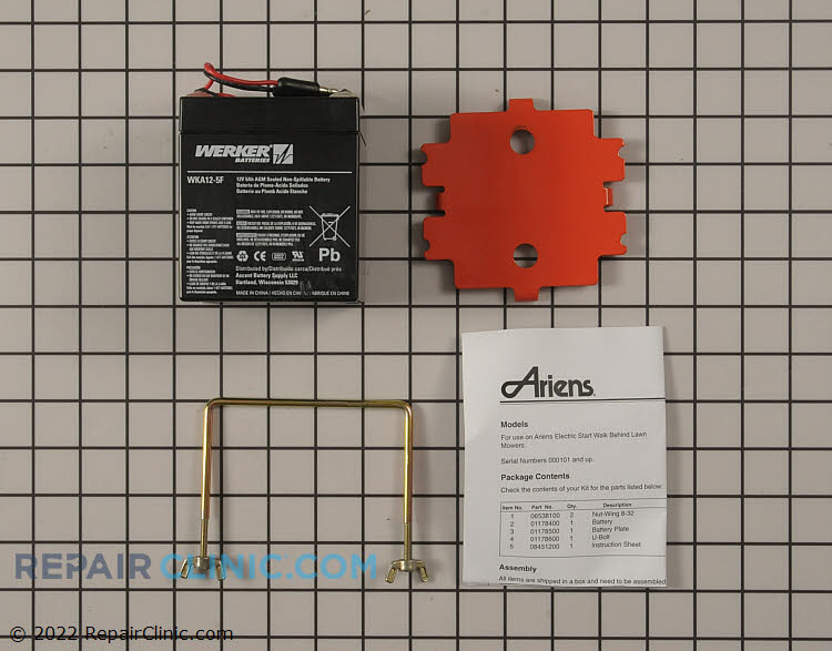 Battery 51106400 Alternate Product View