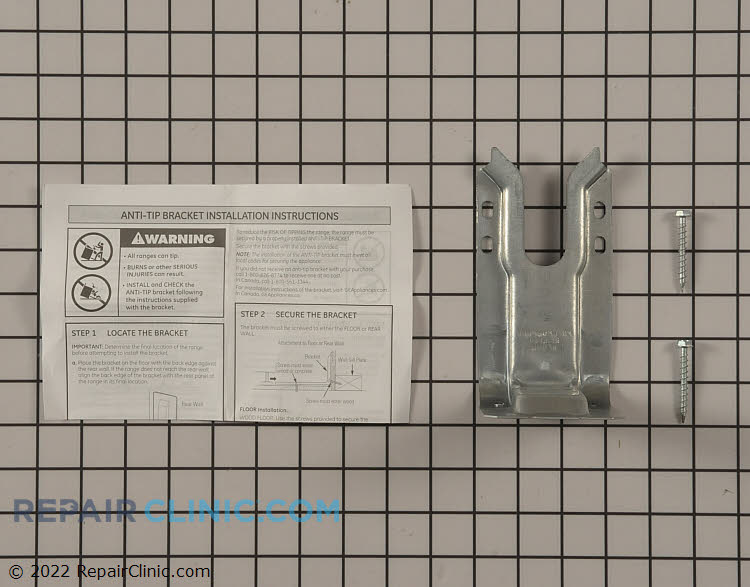 Anti-Tip Bracket WB02T10415 Alternate Product View