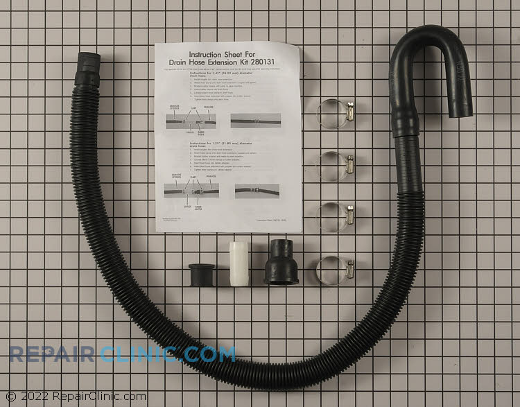 Drain Hose 40922 Alternate Product View
